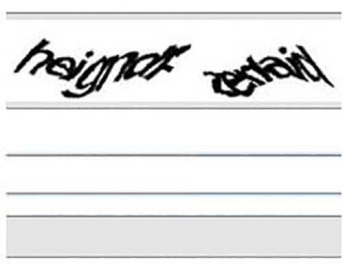 Το τέλος του reCAPTCHA με κείμενα.